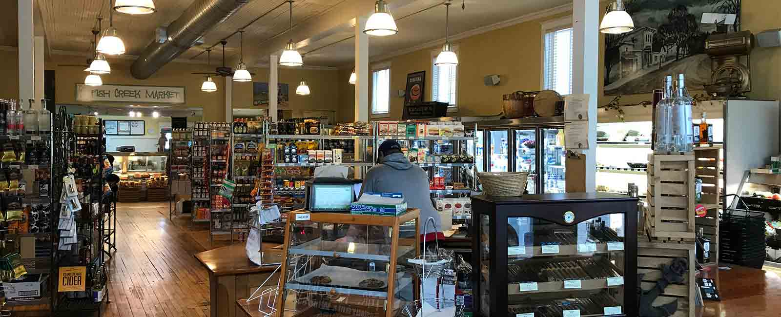 Door county grocery store fish creek deli egg harbor for Fish creek restaurants